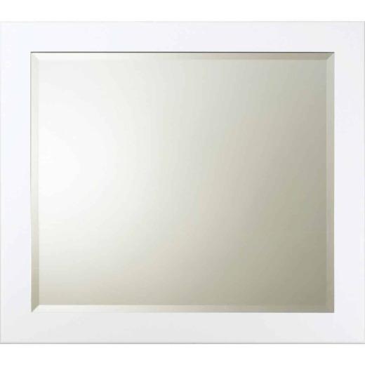 Bertch Osage White 34 In. W x 30 In. H Vanity Mirror
