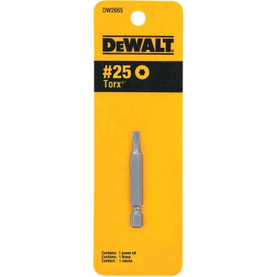 DeWalt T25 TORX 2 In. 1/4 In. Power Screwdriver Bit