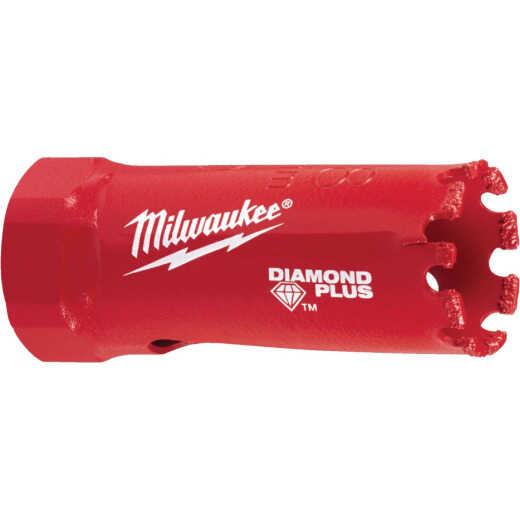 Milwaukee Diamond Plus 7/8 In. Diamond Grit Hole Saw