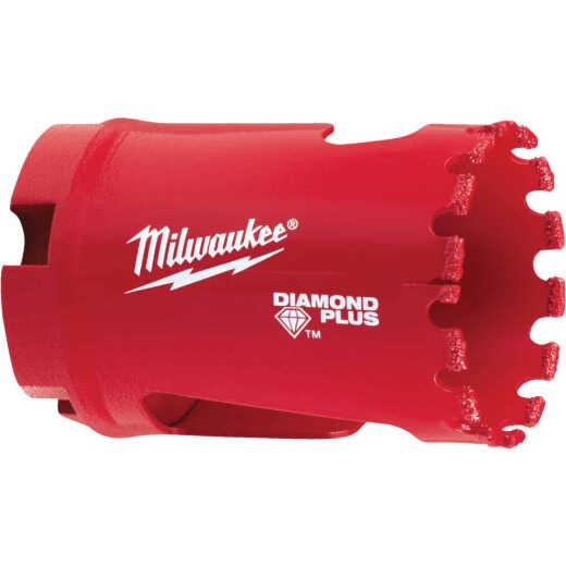 Milwaukee Diamond Plus 1-3/8 In. Diamond Grit Hole Saw
