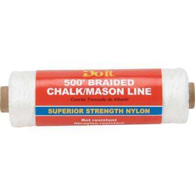 Do it 500 Ft. Braided Nylon Chalk/Mason Line