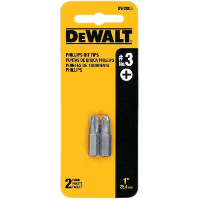 DeWalt Phillips #3 1 In. Insert Screwdriver Bit