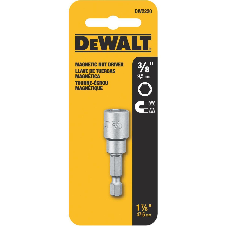 DeWalt Magnetic Hex Socket 3/8 In. x 1-1/2 In. Nutdriver Bit Image 2