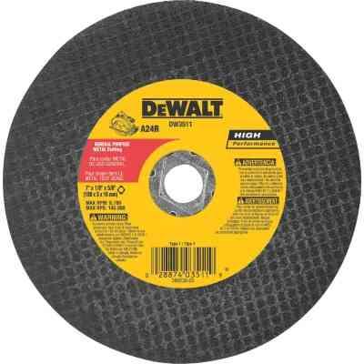 DeWalt HP Type 1 7 In. x 1/8 In. x 5/8 In. Metal Cut-Off Wheel