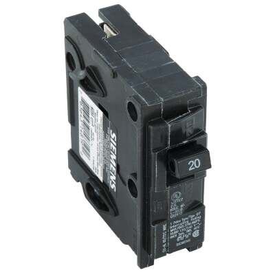 Connecticut Electric 20A Single-Pole Standard Trip Interchangeable Packaged Circuit Breaker