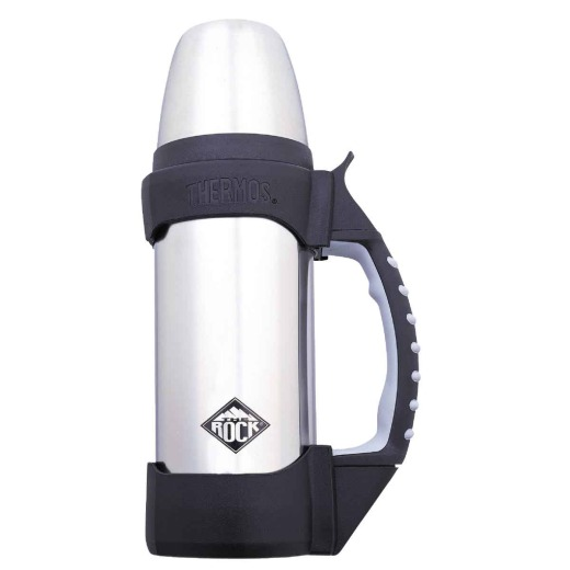 Thermos Rock 1.1 Qt. Silver Stainless Steel Insulated Vacuum Bottle