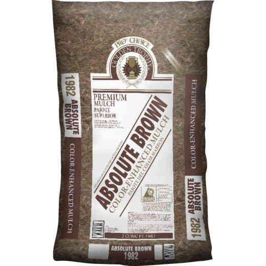 Landscape Select 2 Cu. Ft. Dyed Brown Shredded Hardwood Mulch