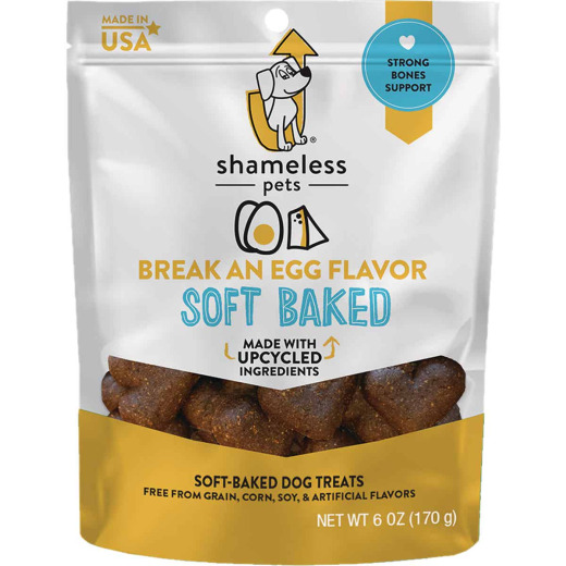 Shameless Pets Break An Egg Soft Baked Dog Treat, 6 Oz.