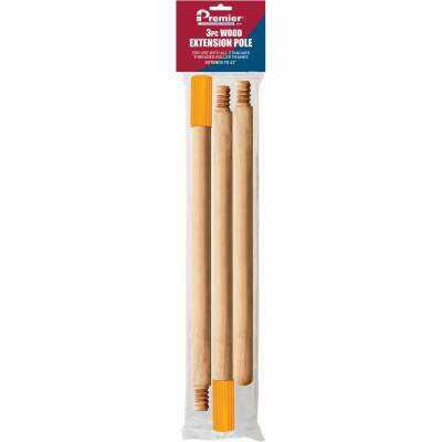 Shur-Line 40 In. Wood Extension Pole
