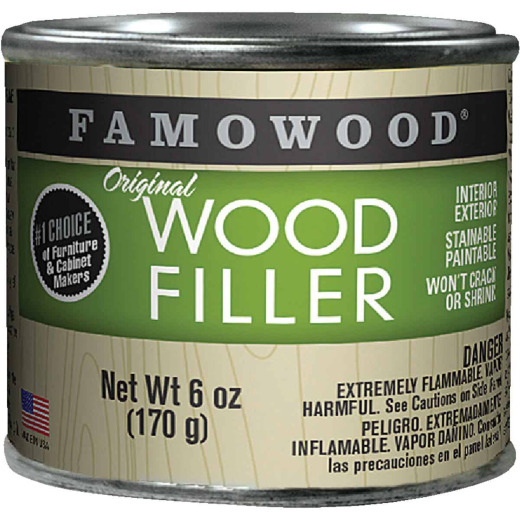 FAMOWOOD Oak  6 Oz. Wood Filler