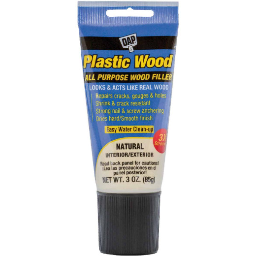 Dap Plastic Wood 3 Oz. Natural All Purpose Wood Filler