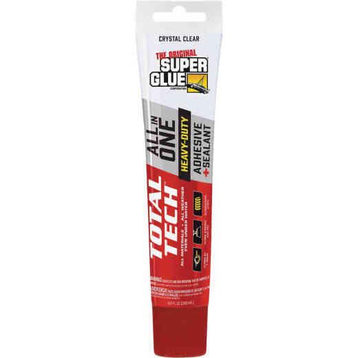 Super Glue Total Tech 4.2 Oz. Clear Construction Adhesive & Sealant