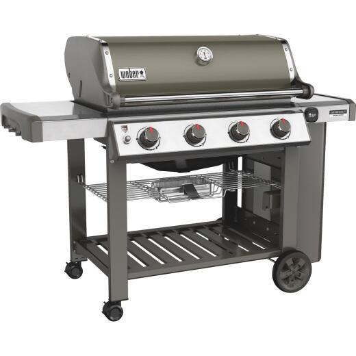 Weber Genesis II SE-410 4-Burner Gray 48,000-BTU LP Gas Grill