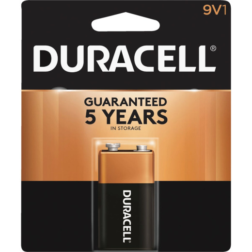 Duracell CopperTop 9V Alkaline Battery