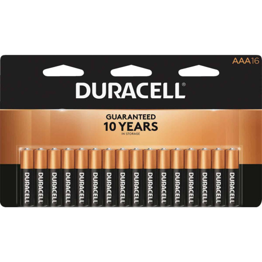 Duracell CopperTop AAA Alkaline Battery (16-Pack)